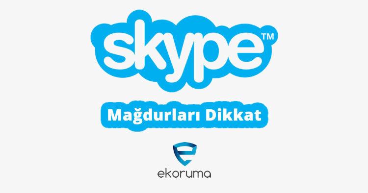 Skype Şantaj